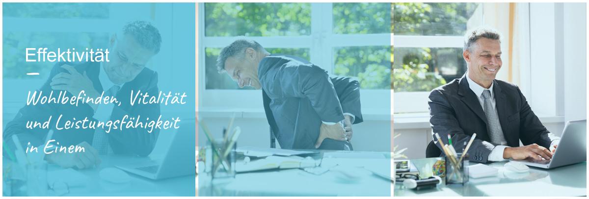 Effektivität Mobilie Massage